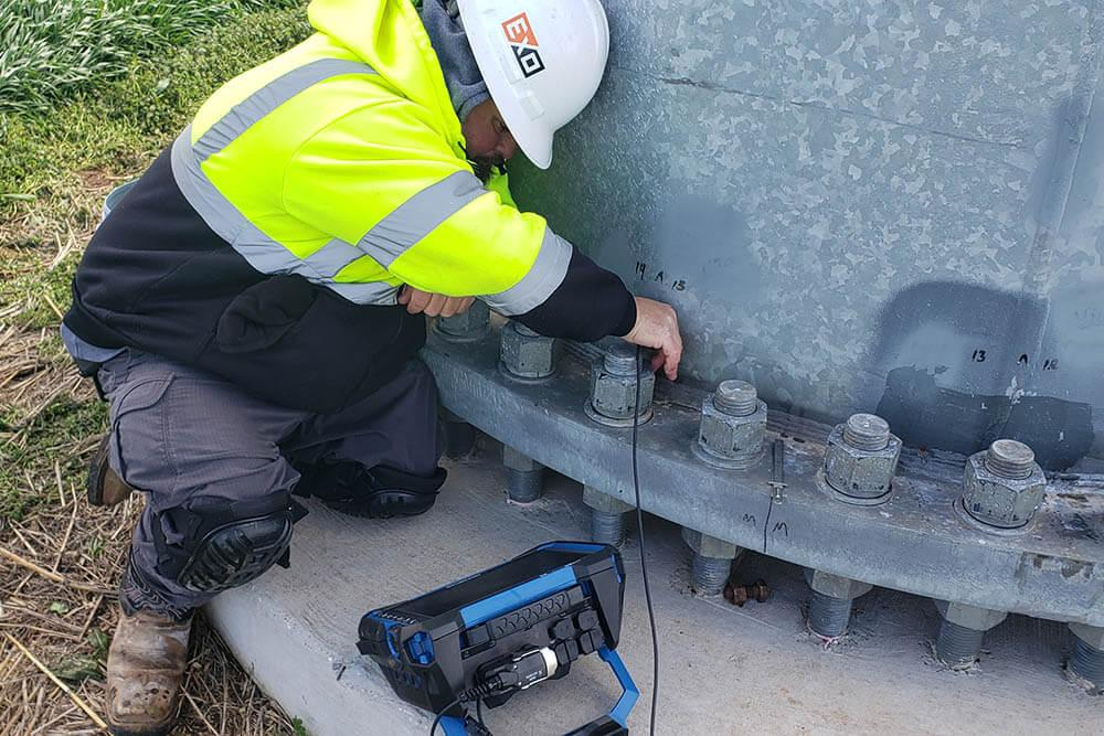 TXNDT ultrasonic testing training in Houston