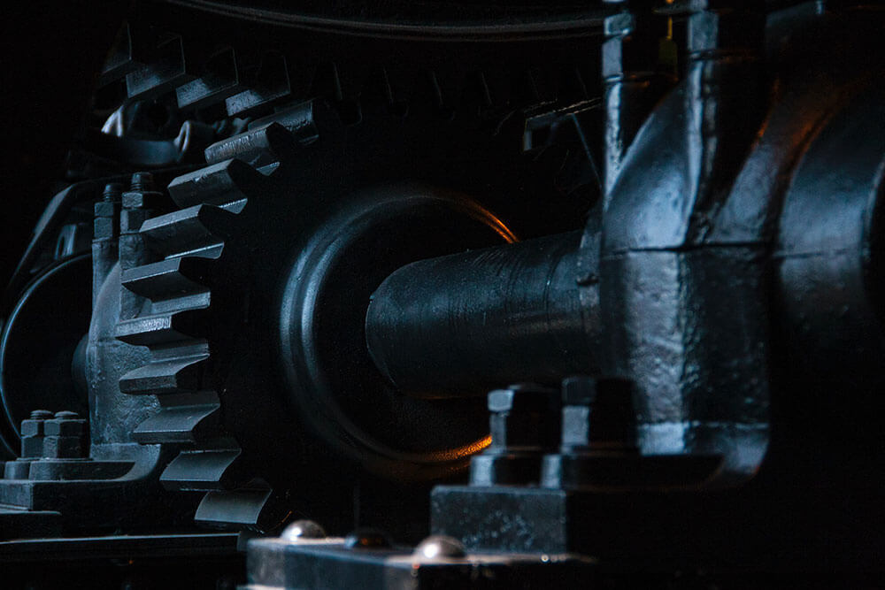 Magnetic particle testing in gears
