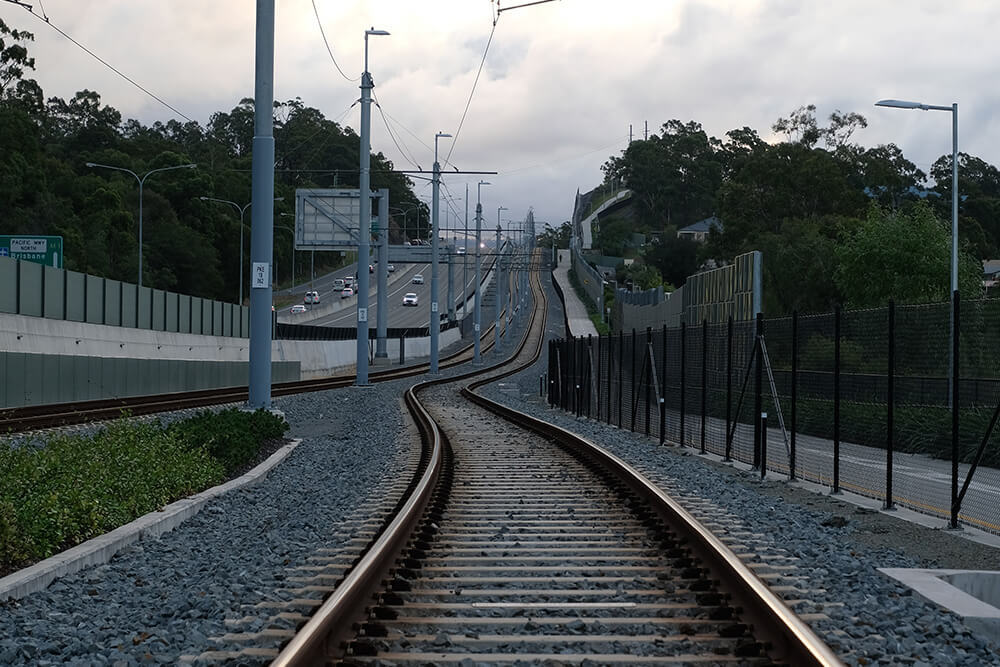 Railroad infrastructure in Texas