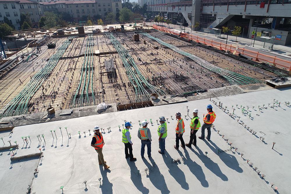 TXNDT NDT contractors on a construction site