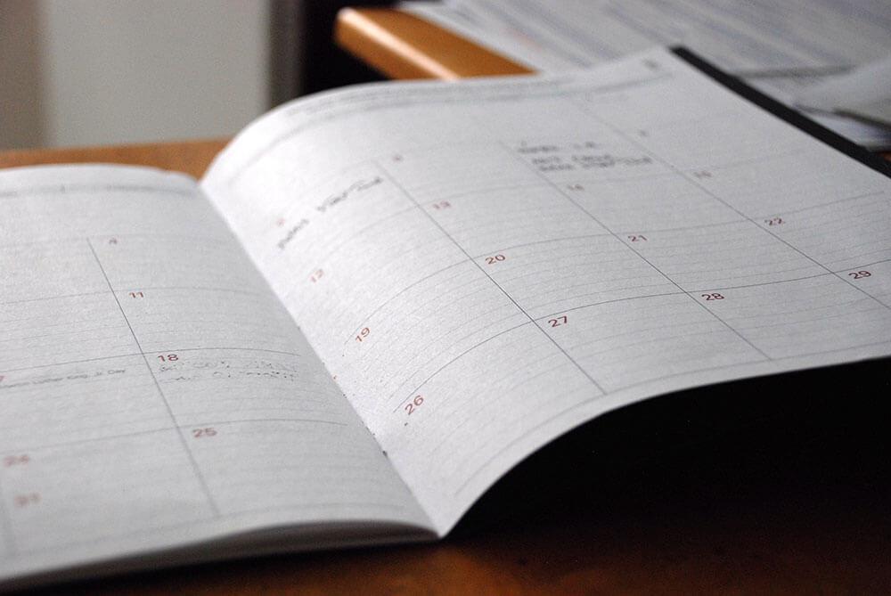 NDT training course calendar